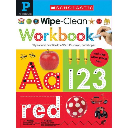Wipe Clean Workbooks, Pre-Kindergarten: Included Wipe Clean Pen