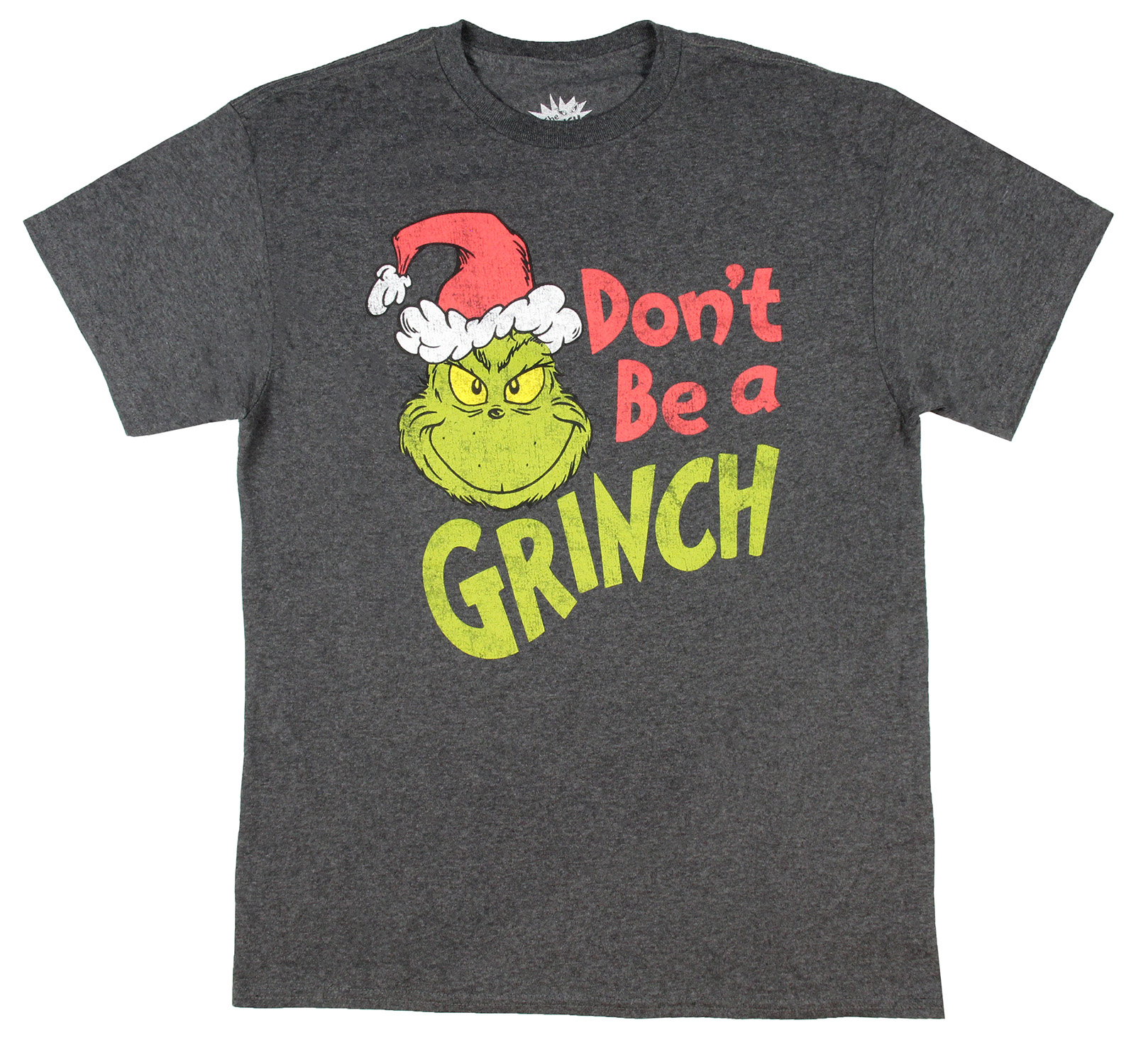 NEW Boutique Dr Seuss Grinch Stole Christmas Girls Ruffle Sleeve Shirt