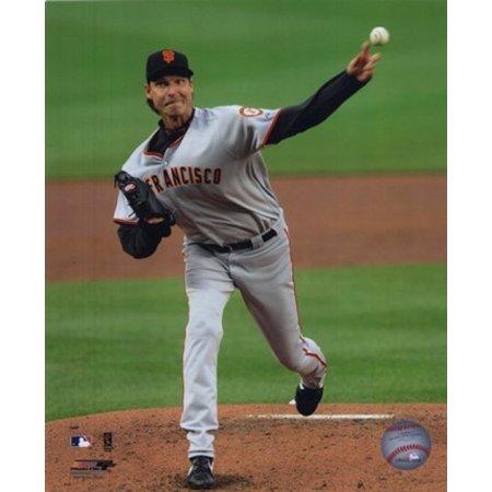 Randy Johnson Autograph Framed Photo (Randy Johnson - 2009 Pitching Action Sports Photo)