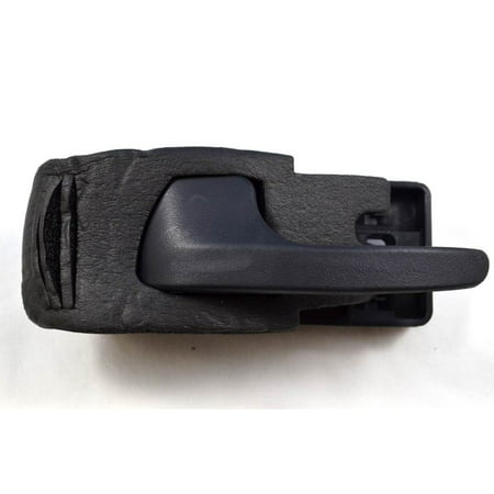PT Auto Warehouse FO-2901A-FL - Inner Interior Inside Door Handle, Black - Driver Side Front