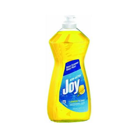 25 Packs   Joy Non Ultra Dishwashing Liquid  Lemon Scent  14 Ounce
