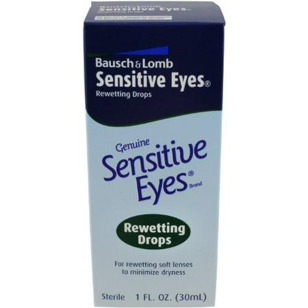 Bausch & Lomb Sensitive Eyes Rewetting Drops 1oz
