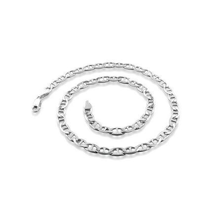 Italian Sterling Silver Marina Chain Men