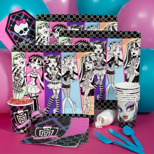 Monster High Kit-N-Kaboodle Party Pack for 8