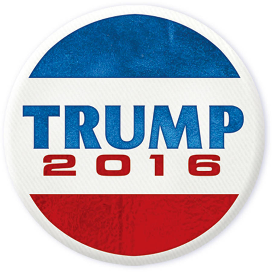 Donald Trump 2016 Button, 5pk