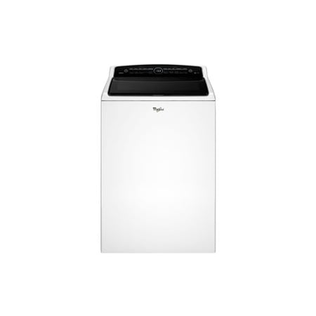 Whirlpool Cabrio WTW8000DW - Washing machine - freestanding - width: 27.5 in - depth: 27 in - height: 42 in - top loading - 5.3 cu. ft - white