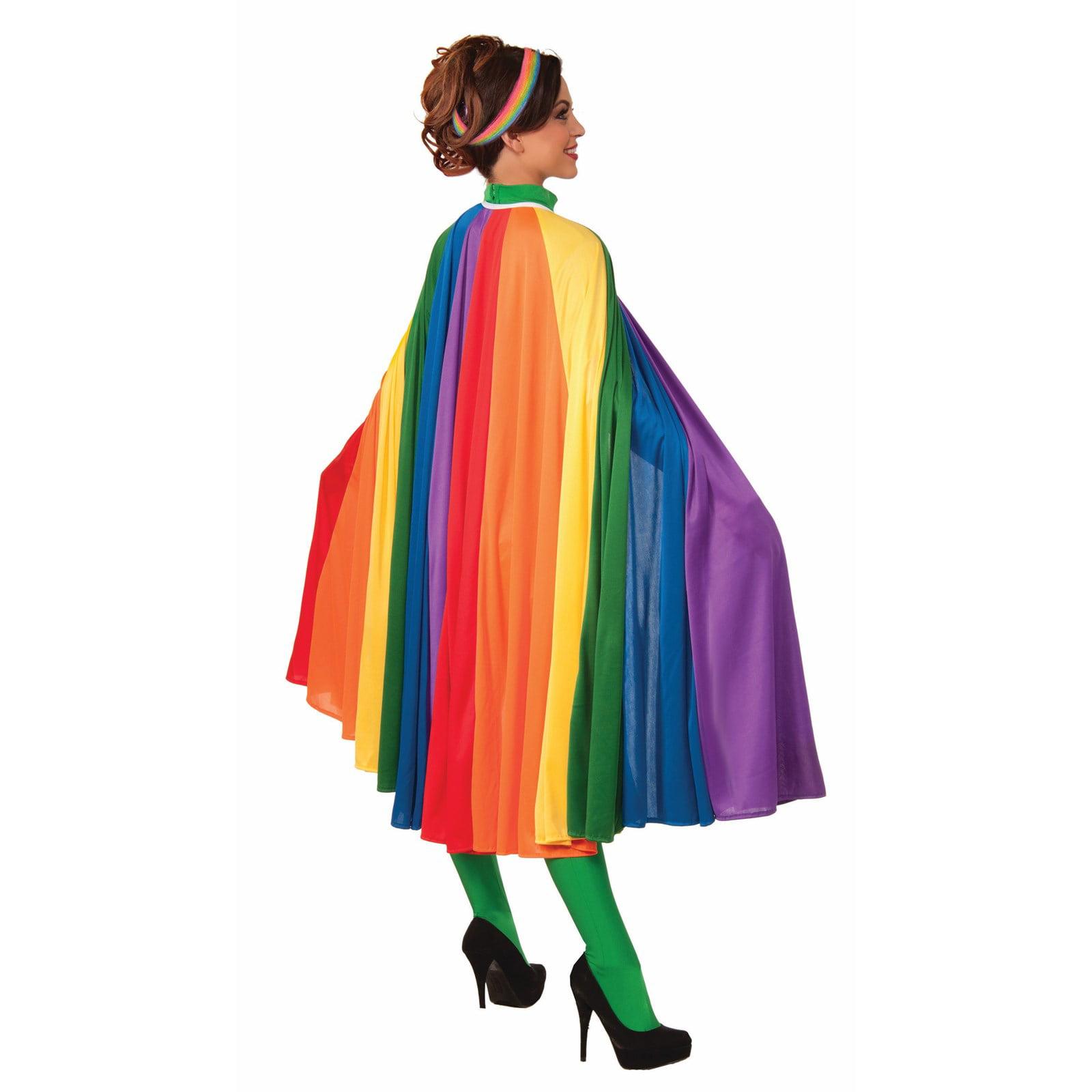 Adult Rainbow Cape