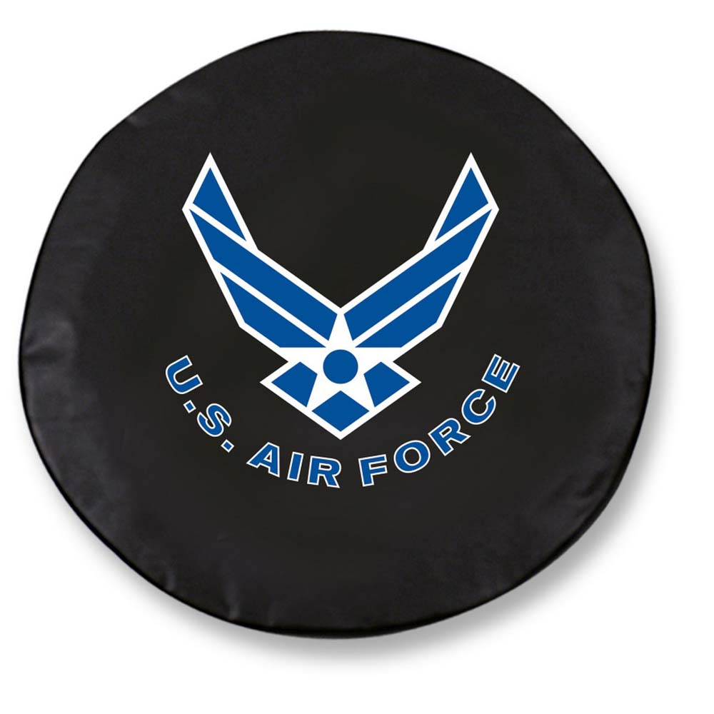 US Air Force Large Tire Cover (Black)