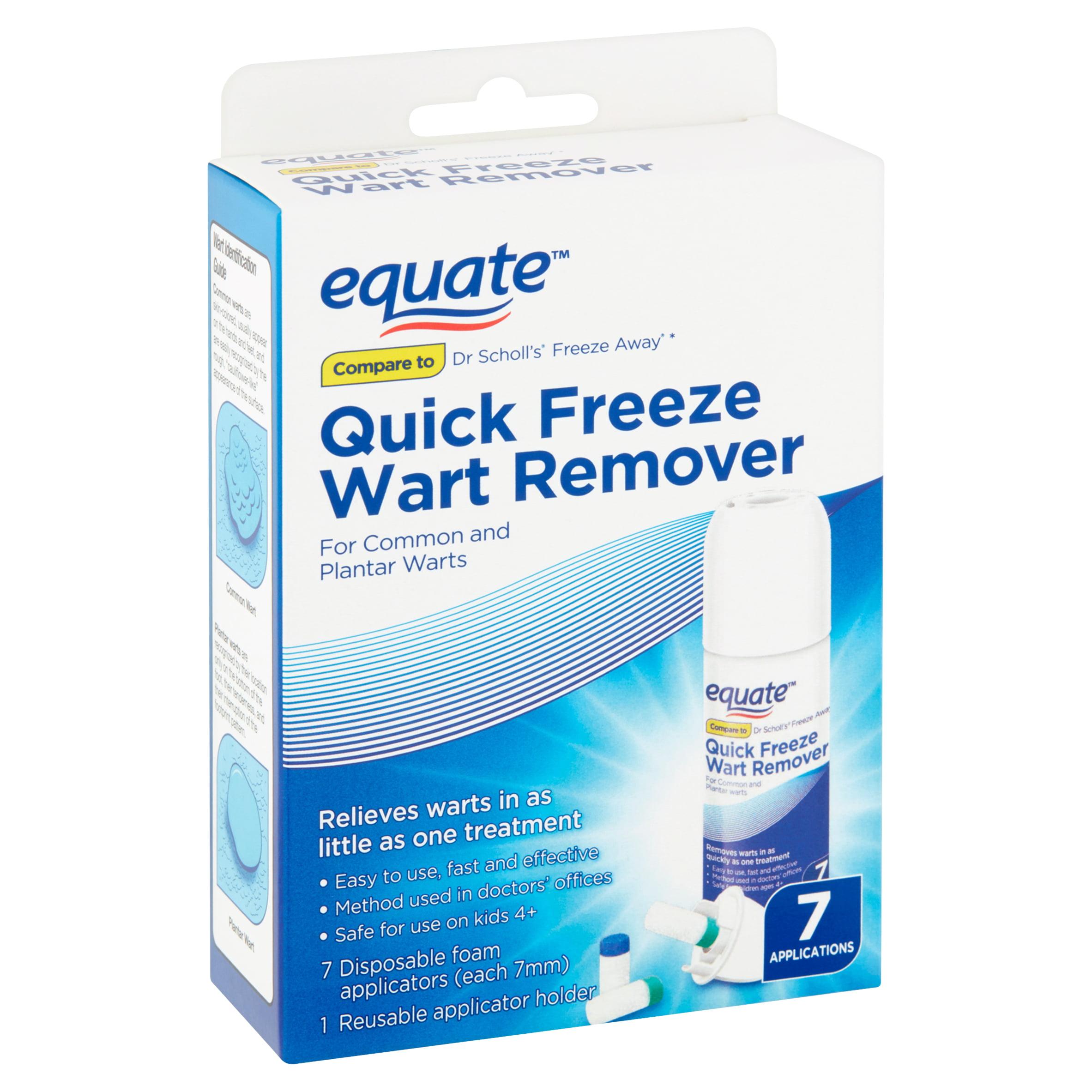 Equate Quick Freeze Wart Remover 7 Applications Walmart Com Walmart Com