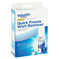 Equate Quick Freeze Wart Remover, 7 applications