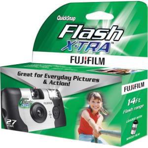 Fujifilm 7037109 Quicksnap Flash 800 Disposable Camera - 27 Exposures
