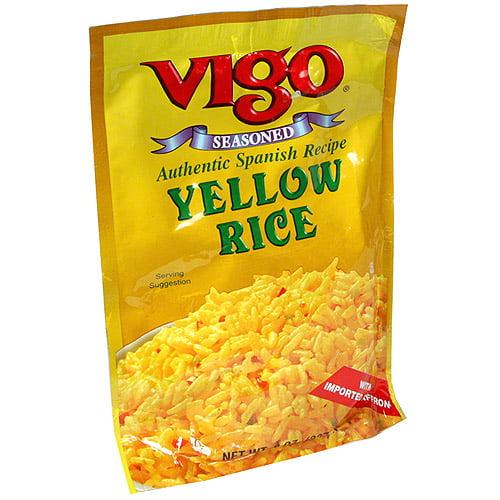 Vigo Authentic Spanish Recipe Yellow Rice, 8 oz (Pack of 6)