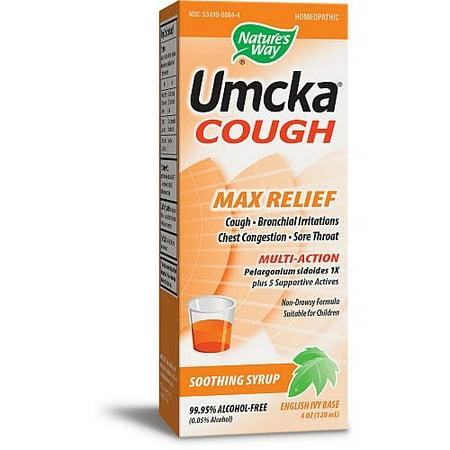 Natures Way Umcka Syrup (Natures Way Umcka Cough Max Relief Syrup 4 Oz )