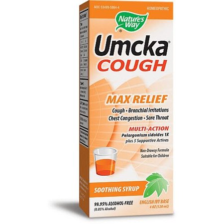 Cough Relief Syrup - Nature's Way Cough Max Relief Syrup 120 mL