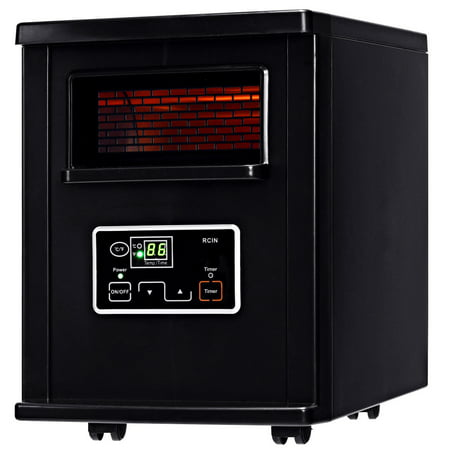 Costway 1500W Electric Portable Infrared Quartz Space Heater covid 19 (Electric Infrared Radiant Heaters coronavirus)