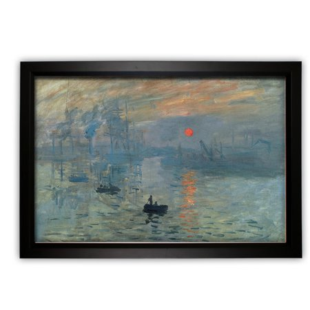 Wexford Home Impression Sunrise by Vincent Van Gogh Framed Painting (Sunrise Oil Painting)