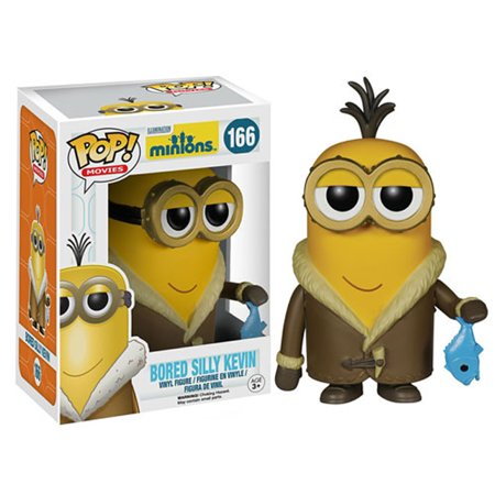Funko POP Movies: Minions Figure, Bored Silly - Minion Movie Characters
