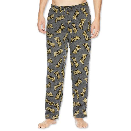 DC Comics Batman Vintage Logo Lightweight Men's Lounge Pajama Pants RO087MPT