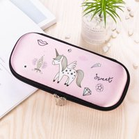 KABOER Cartoon Unicorn Pencil Case School Supplies Cute Pencil Box Pencilcase