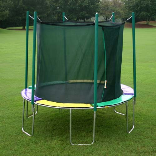 Kidwise 10 ft. Round Trampoline with Enclosure