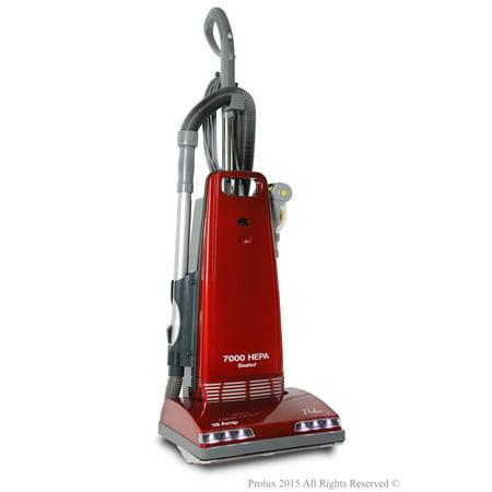 New Prolux 7000 Upright Sealed HEPA vacuum on board tools 7 Year Warranty (Upright Hepa Vacuum)