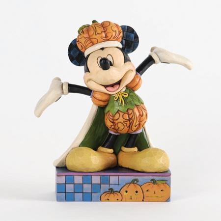 Jim Shore Disney Halloween Pumpkin King Mickey Mouse