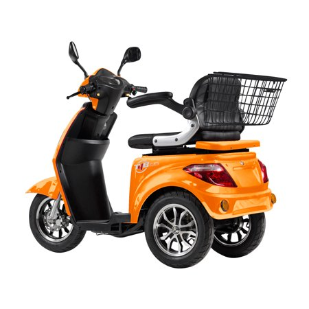 T4B LU-500W Mobility Electric Recreational Outdoors Scooter 48V20AH with Three Speeds, 14/22/32kmph - Orange - image 7 de 14