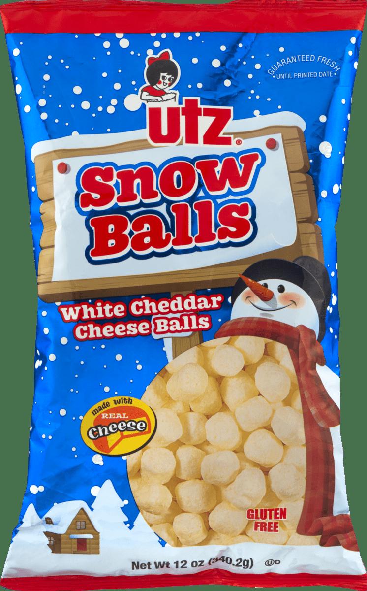 UTZ Snow Balls White Cheddar Cheese Balls 12 oz. Bag (3 Bags) by UTZ Quality Foods, Inc.