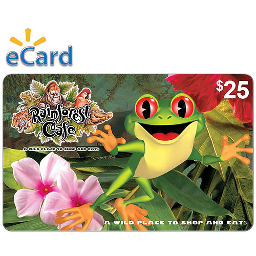 Rainforest Cafe $25 eGift Card (Email Delivery)