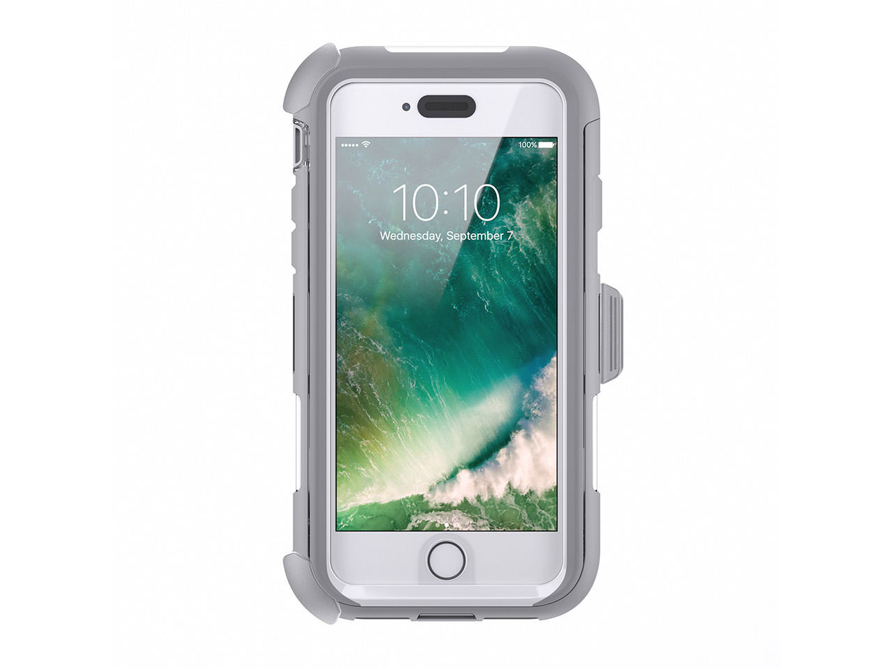 low priced f53e4 75665 Griffin Griffin iPhone 7 Rugged Case, Survivor Extreme Impact Resistant  Case w/ Holster, Maximum Drop Protection & Rain-Proof Case for iPhone 7