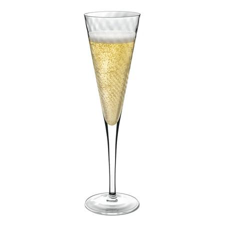 Luigi Bormioli Hypnos 5.5 oz. Champagne Flutes - Set of 4