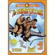 The Three Stooges: 6 Movie Set by