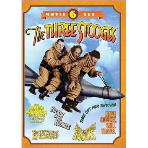 The Three Stooges: 6 Movie Set