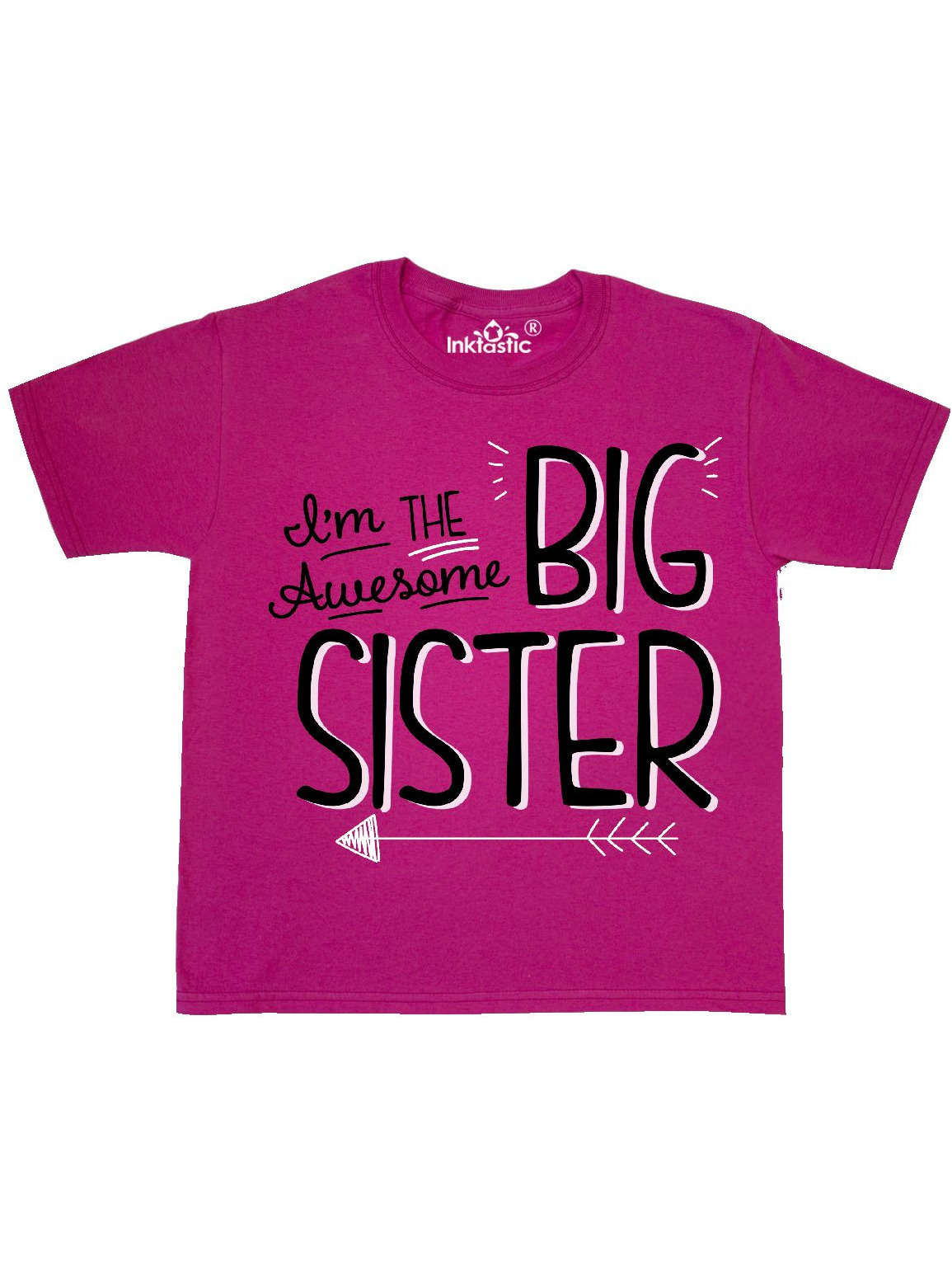 i'm the awesome big sister Youth T-Shirt