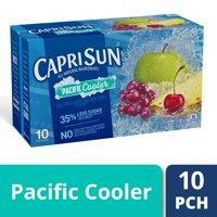 Capri Sun Pacific Cooler Mixed Fruit Flavored Juice Drink Blend, 10 ct. Box