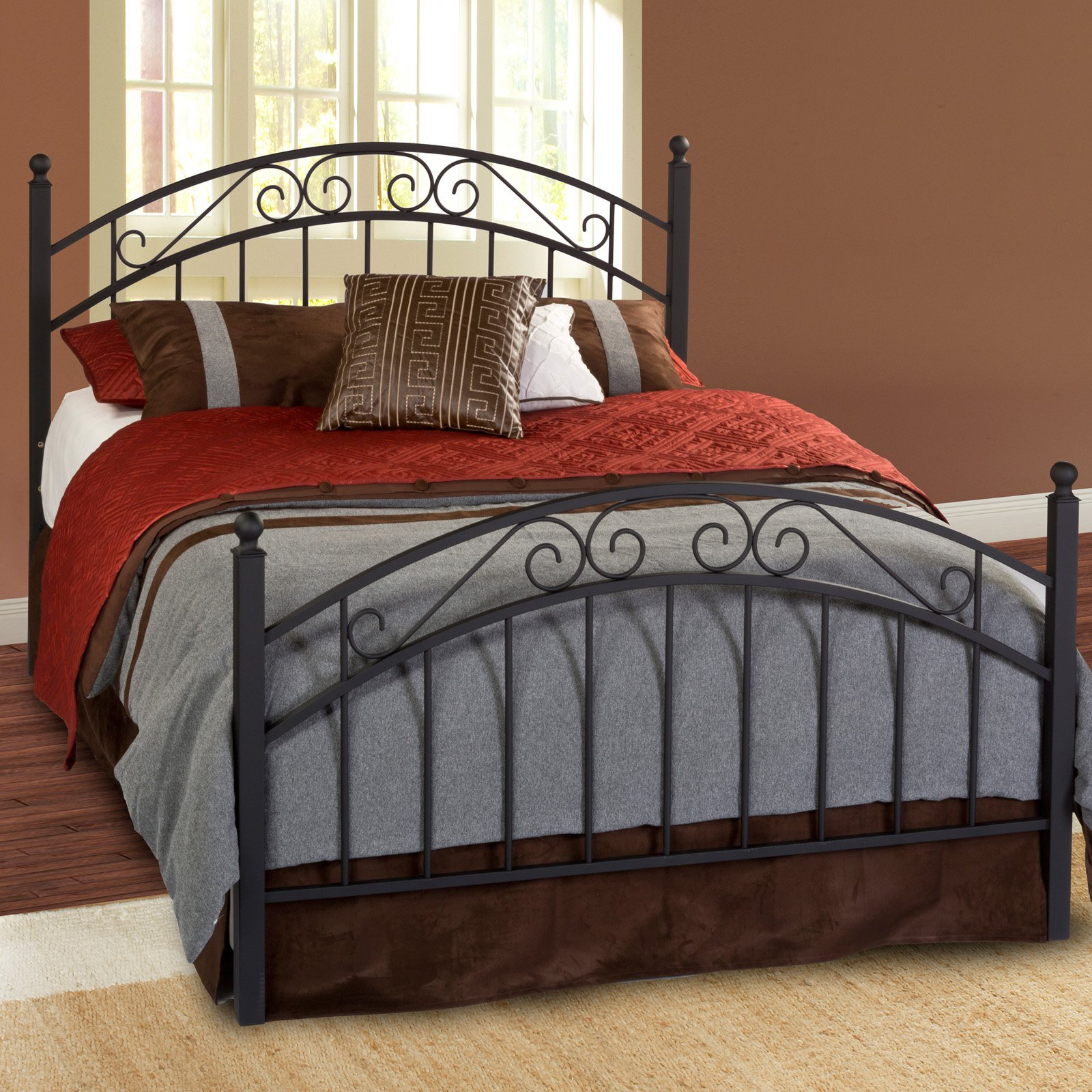 Willow Metal Bed