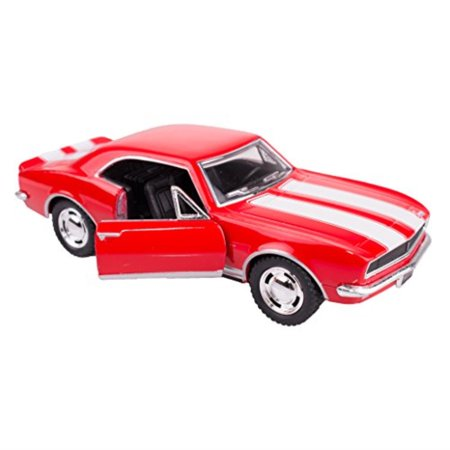 1967 chevy camaro z/28 1/37 red by collectable diecast