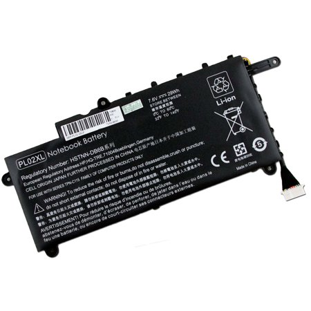 New PL02XL Battery for HP Pavilion 11-N X360 Series Laptop 11-n010dx HSTNN-LB6B 751681-421 751875-001