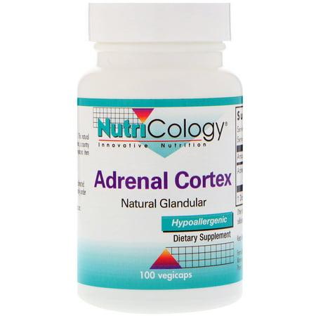 Nutricology  Adrenal Cortex  Natural Glandular  100 Vegicaps