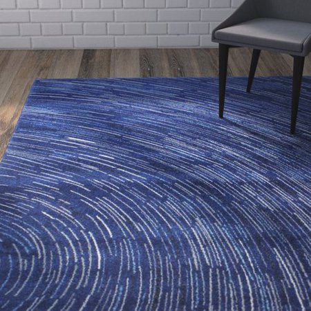 Wrought Studio Reasor Dark Blue Area Rug