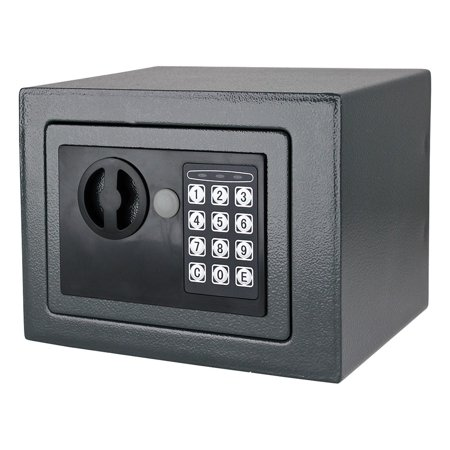 digital electronic small safe box keypad lock home wall