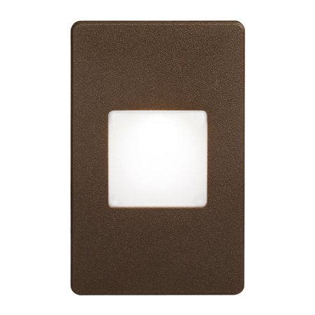 Dainolite Bronze Rectangle In/Outdoor 3W LED Wall