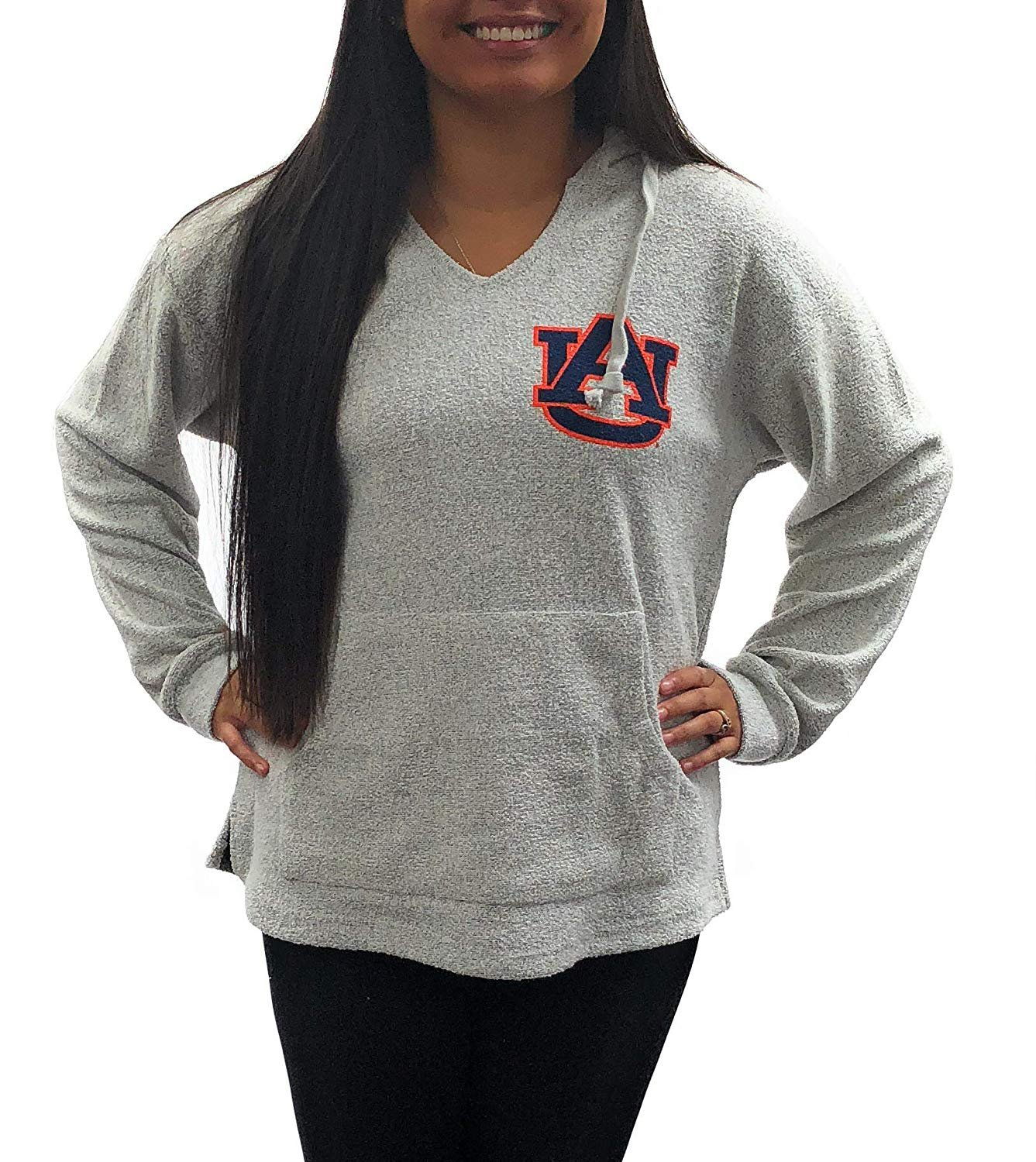 University of Auburn Tigers Womens Apparel Hooded Comfy Terry Sweatshirt Clothing by Royce Apparel