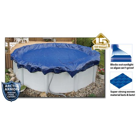Arctic Armor WC910-4 15 Year 28' Round Above Ground Swimming Pool Winter Covers - image 5 of 5