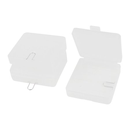 3 x Plastic Protective 4 x 18650 Battery Holder Storage Box Case Clear - image 1 of 1