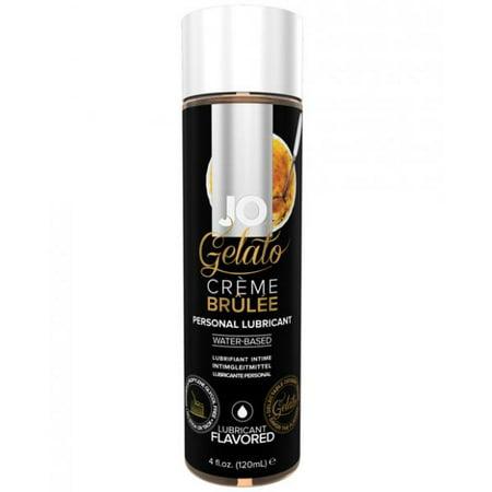 System JO - Gelato Water Based Personal Lubricant Creme Brulee - 4 fl. - System Jo Personal Lubricant