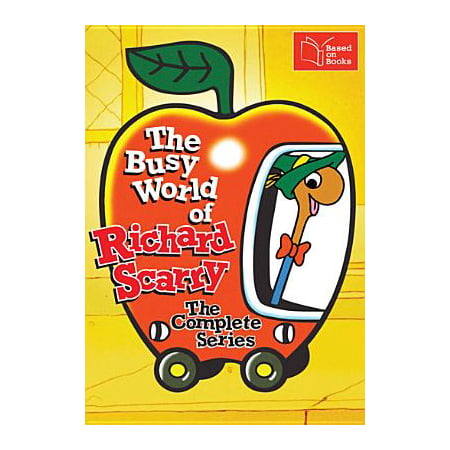 The Busy World of Richard Scarry: The Complete Series (Tigers World Series)