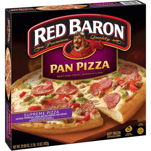Red Baron Supreme Pan Pizza, 29 oz