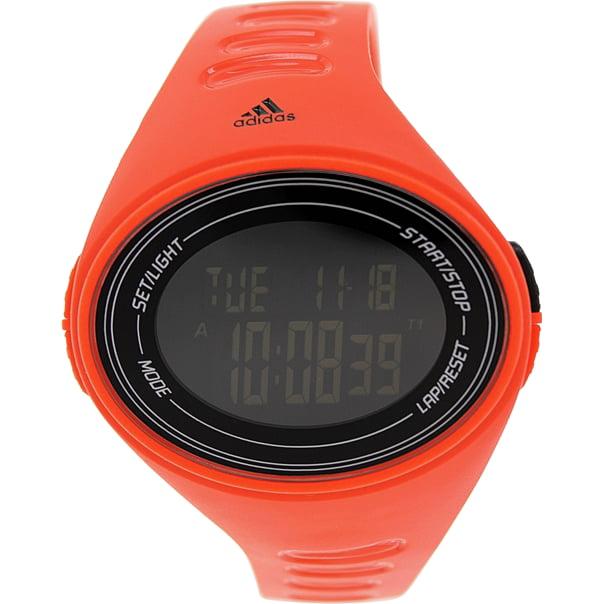Adidas ADP6129 Adizero Red Nylon Bracelet With 53mm x 49mm Digital Watch NIB by Adidas