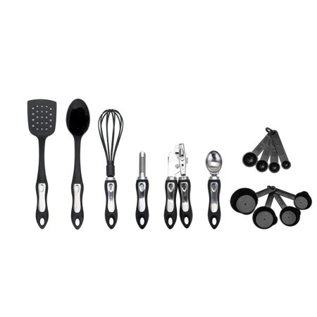 Cooking Essentials Stool - 14 Piece Hamilton Beach Kitchen Essentials Cooking Utensil Gadget Tool Set